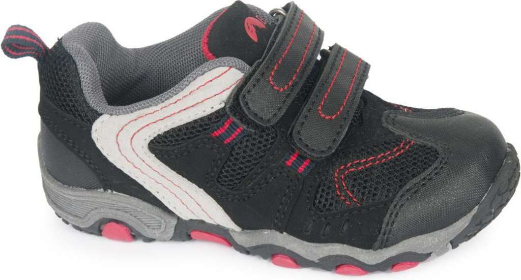 Buty Juniorskie Gavino JR Black/Mid Grey/Red r. 34