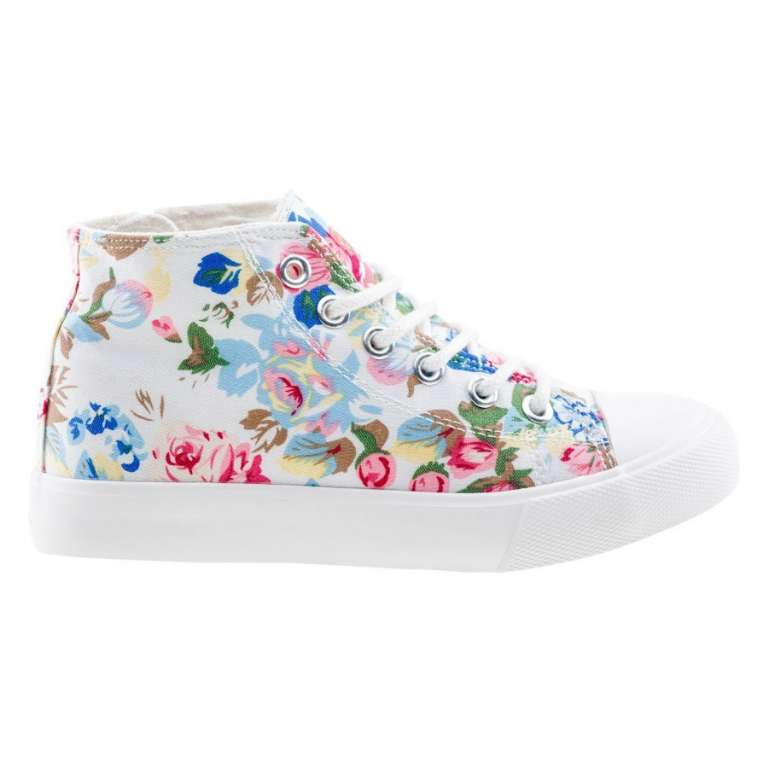 Buty juniorskie Talogen Jrg White/ Flower Print r. 32