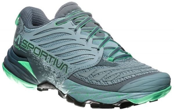 La Sportiva Buty Do Biegania Damskie Akasha Woman Stone Blue/Jade Green 38