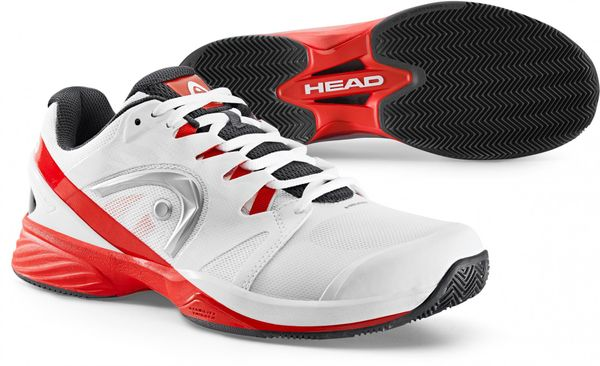 Head Nitro Pro Clay Men White/Red 43,0