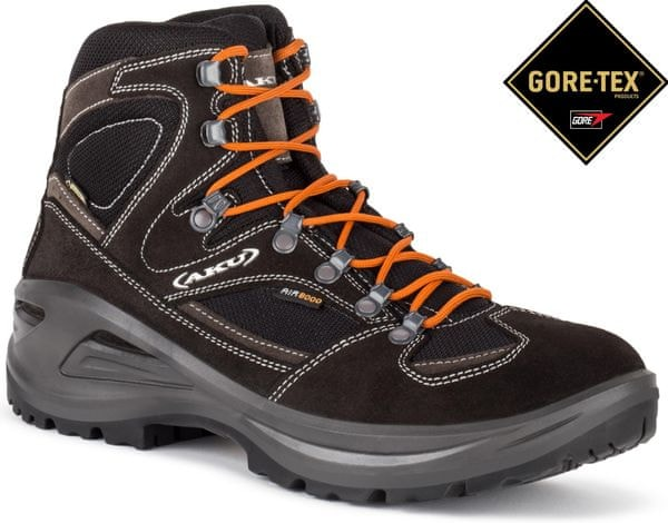 Aku Buty Trekkingowe 346 Sendera Gtx Black-Orange 11 (46,0)