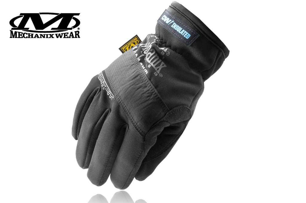 Rękawice Mechanix FastFit Insulated, czarne, r. XL