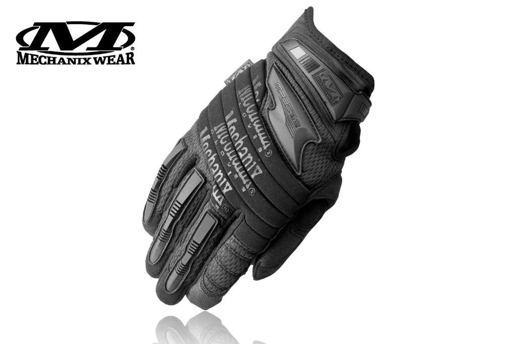 Rękawice Mechanix Wear The M-Pact 2 Glove Covert, czarne r. M