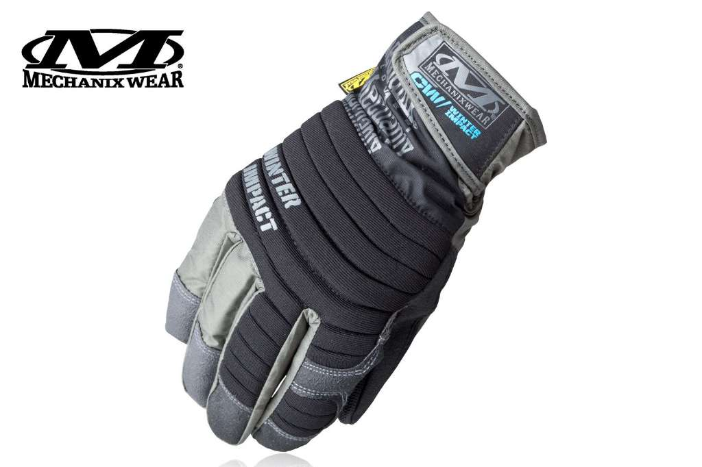 Rękawice Mechanix Wear Winter Impact, czarne